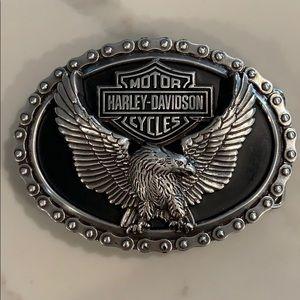 Harley Davidson buckle